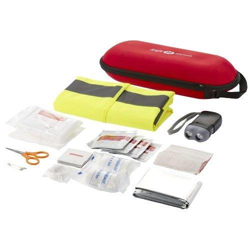 EHBO geschenken relatiegeschenk 46 delige EHBO kit met veiligheidsvest