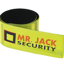 Veiligheidsgeschenk Hitz neon safety slap wrap