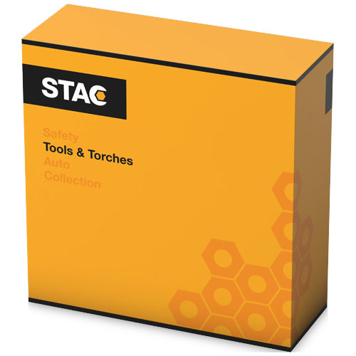 Gereedschap en multitools bedrukken STAC 25 delige bandentoolset 13403200