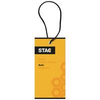 Auto & fiets artikelen bedrukken STAC Accordion kofferbak organizer 13402200