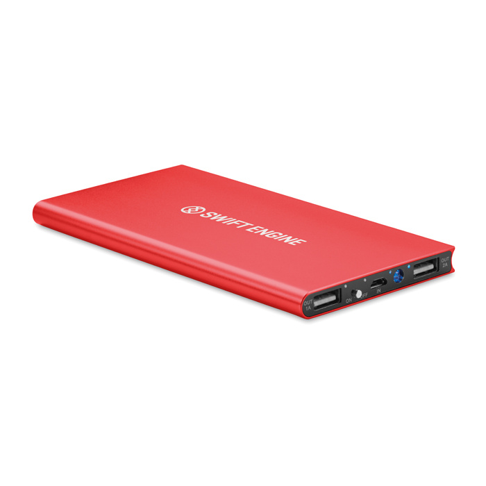 Powerbank bedrukken PowerBank 8000 mAh MO8839