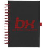 Notitieboekje bedrukken Wiro notitieboek met kleurige spiraalrug 21021100
