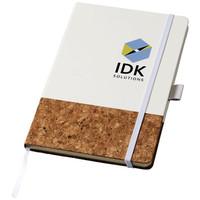 Notitieboekjes bedrukken Evora A5 kurk en thermo PU notitieboek 10732000