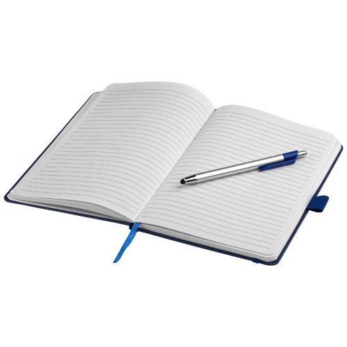Notitieboekjes bedrukken Crown A5 notitieboek met stylus balpen 10685200