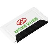 IJskrabbers bedrukken Freeze ijskrabber met rubber in creditcardformaat 21084100