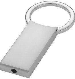 Sleutelhangers bedrukken Rechthoekige sleutelhanger