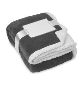 Fleece dekens bedrukken Dekens, koraal fleece/sherpa MO9089