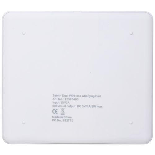 Powerbank bedrukken Zenith Dual Charg Pad 12395400