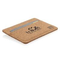 RFID Relatiegeschenk  bedrukken ECO kurk RFID mini portemonnee P820.879