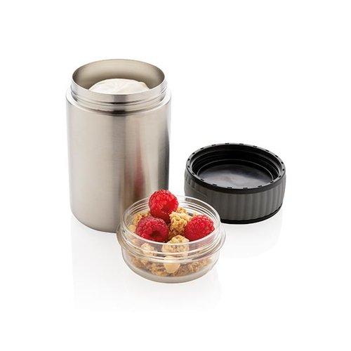 Thermo mok bedrukken 2-in-1 vacuüm voedselcontainer P433.982 P433.982 bedrukt