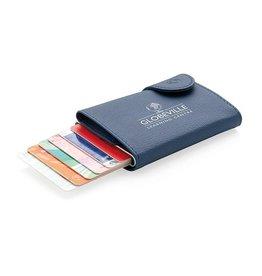 RFID Relatiegeschenk  bedrukken C-Secure aluminium RFID kaarthouder & portemonnee P850.515