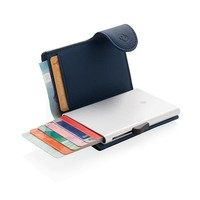 RFID Relatiegeschenk  bedrukken C-Secure aluminium RFID kaarthouder & portemonnee P850.515 bedrukt