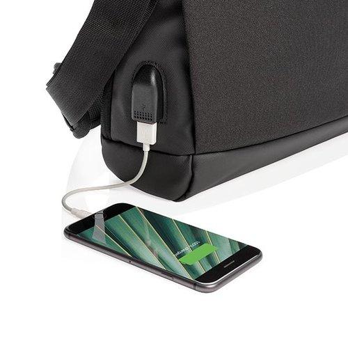 """RFID Relatiegeschenk  bedrukken Madrid RFID USB 15.6"""" laptop tas PVC-vrij P732.361"""