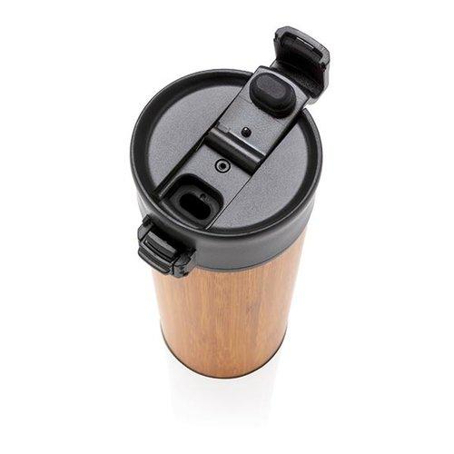 Thermo mok bedrukken Bogota bamboe lekvrije isoleer koffiebeker P432.289 bedrukt