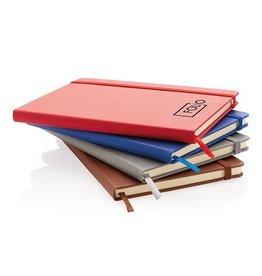 Notitieboekjes bedrukken Deluxe hardcover PU A5 notitieboek - P773.429