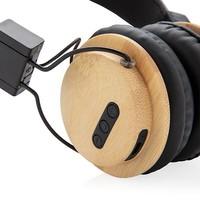 Hoofdtelefoons bedrukken Bamboe draadloze hoofdtelefoon P329.169 bedrukt