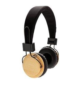 Hoofdtelefoons bedrukken Bamboe draadloze hoofdtelefoon P329.169