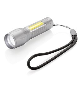 COB lamp bedrukt LED 3W focus zaklamp met COB P513.522