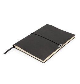 Notitieboekjes bedrukken Swiss Peak A5 flexibele softcover-notitieboek P772.081