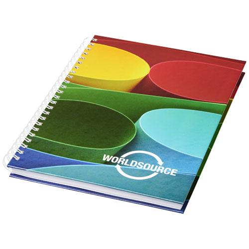 Notitieboekjes bedrukken Wire-o A5 notitieboek hard cover