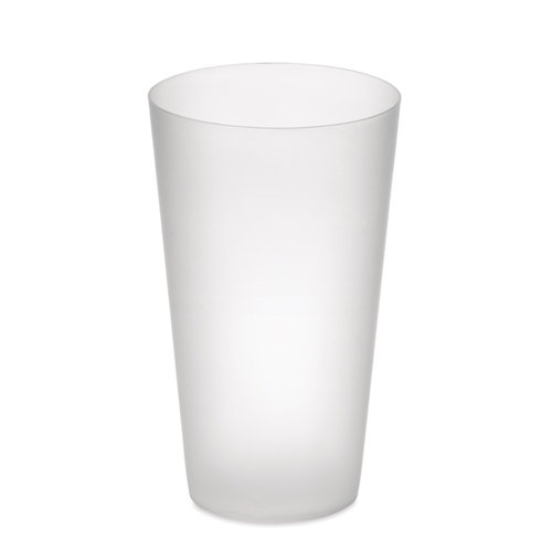 Festa cup - Frosted PP cup 550 ml MO9907