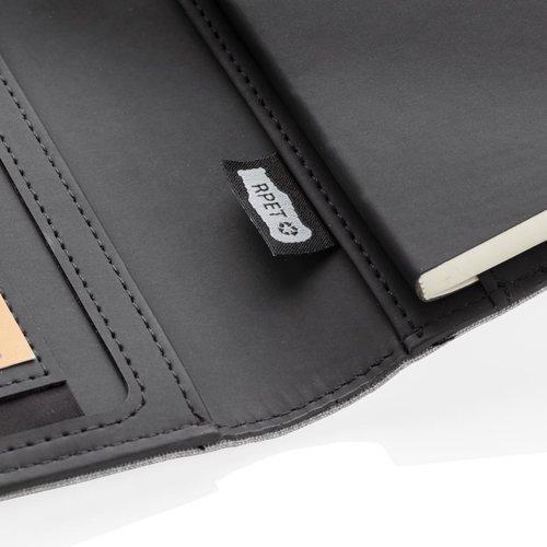 Opladers bedrukken Air 5W rPET A5 notitieboek omslag met draadloos opladen P774.051
