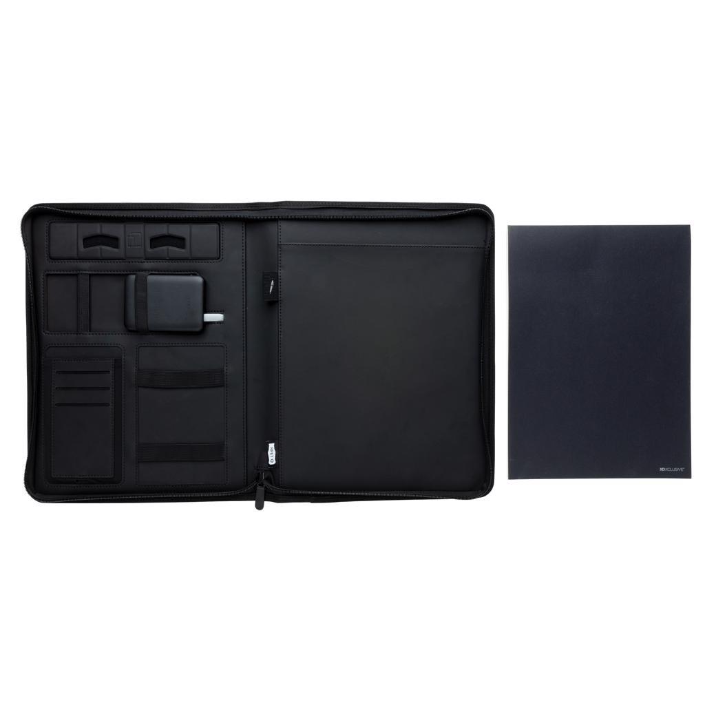 Opladers bedrukken Air 5W rPET A4 portfolio met draadloze oplader P774.041