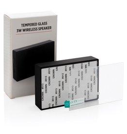 Luidsprekers bedrukken Tempered glass 3W draadloze speaker P329.221