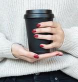 Thermo mok bedrukken Herbruikbare dubbelwandige koffiebeker 300ml P432.691