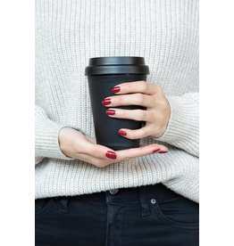 Thermosbeker relatiegeschenk Herbruikbare dubbelwandige koffiebeker 300ml P432.691