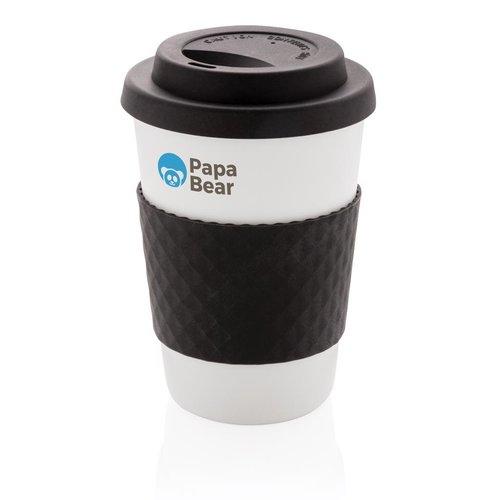 Thermo mok bedrukken Herbruikbare koffiebeker 270ml P432.671