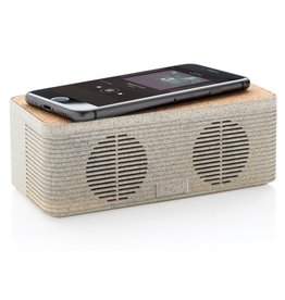 Opladers bedrukken Tarwestro 5W speaker met draadloze oplader P328.719