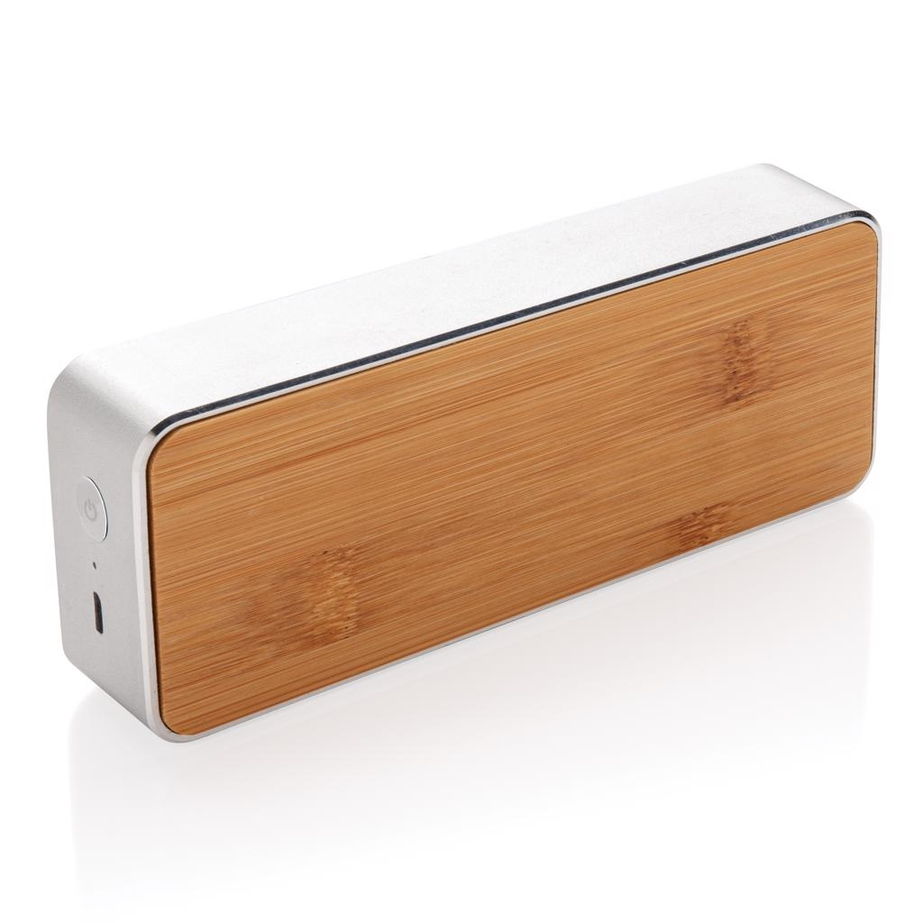 Luidsprekers bedrukken Nevada Bamboe draadloze 3W speaker P329.212
