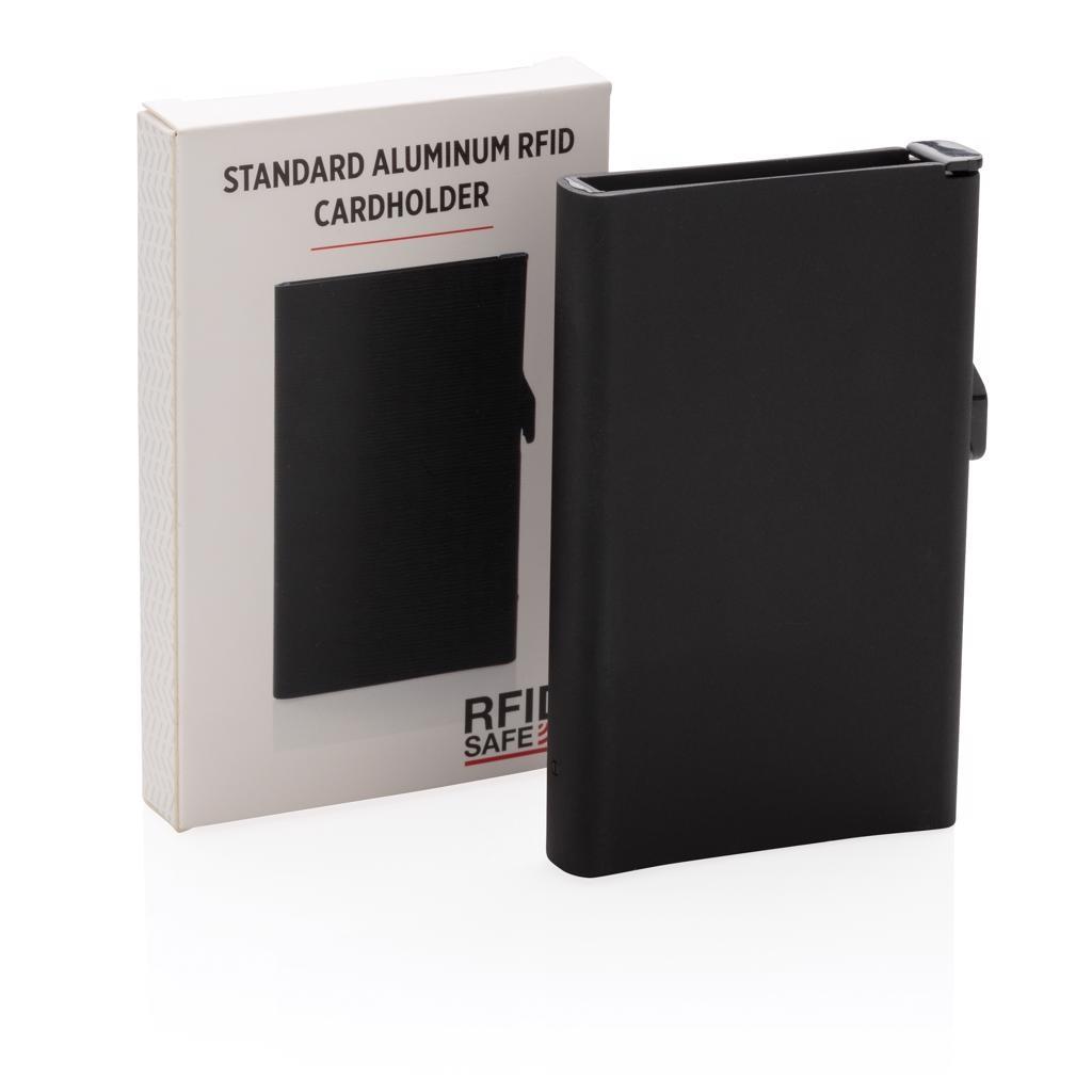 RFID RELATIEGESCHENKEN Standaard aluminum RFID kaarthouder P820.041
