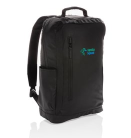 "Rugzakken bedrukken Fashion black PVC vrije 15.6"" laptop rugtas P760.131"