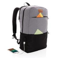 "Laptoptassen bedrukken Modern 15.6"" USB & RFID laptop rugzak PVC vrij P760.051"