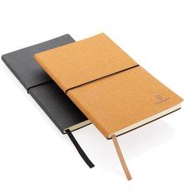 Notitieboekjes bedrukken A5 recycled lederen notitieboek P772.212
