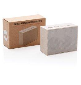 Luidsprekers bedrukken 3W tarwestro mini speaker P328.709