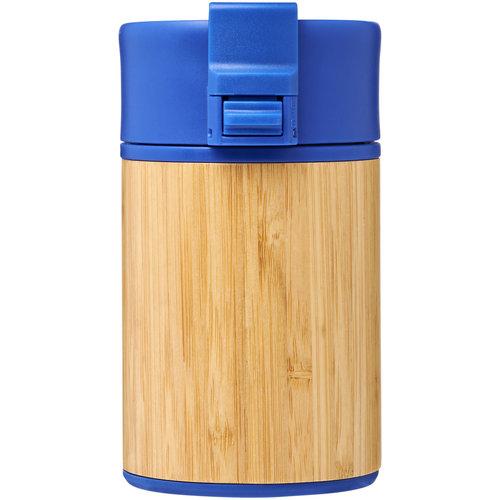 Thermo mok bedrukken Arca 200 ml lekvrije koper vacuümbeker van bamboe