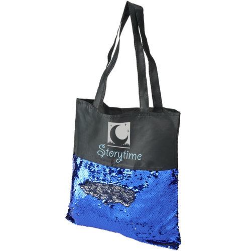 Boodschappentas bedrukken Mermaid draagtas met pailletten