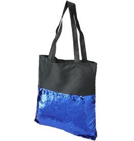 Boodschappentassen bedrukken Mermaid draagtas met pailletten