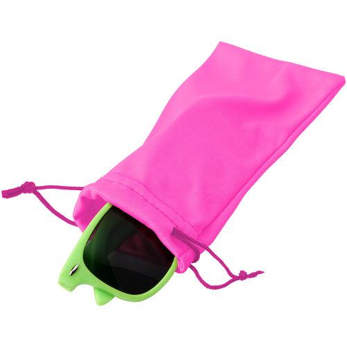 Clean microvezeltasje voor een zonnebril