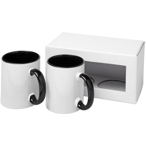 Mokken bedrukken Ceramic sublimatie mok 2 delige geschenkset