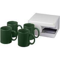 Mokken bedrukken Ceramic mok 4 delige geschenkset
