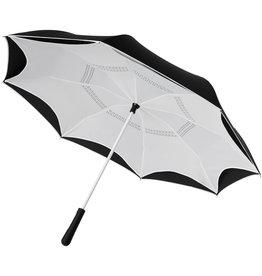 """Klassieke paraplu relatiegeschenk Yoon 23"""" binnenstebuiten gekeerde rechte paraplu met frisse kleuren"""