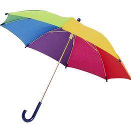 """Opvouwbare paraplu relatiegeschenk Nina 17"""" stormparaplu voor kinderen"""