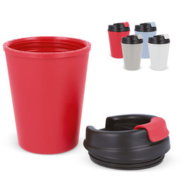 Thermosbeker relatiegeschenk Thermo koffiebeker kunststof 350ml LT98830