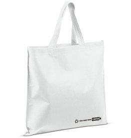 Boodschappentassen bedrukken R-PET tas, 38x42 (wit) LT95180