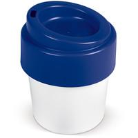 Mokken bedrukken Hot-but-cool koffiebeker met deksel 240ml LT98707