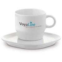 Koffie kopjes relatiegeschenk Kop & schotel Satellite 180ml LT51481